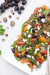 Lentil & Grape Salad [vegetarian] by The Flexitarian
