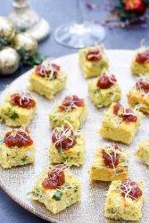 Curried Cauliflower Canapes [vegetarian] [gluten free] by The Flexitarian