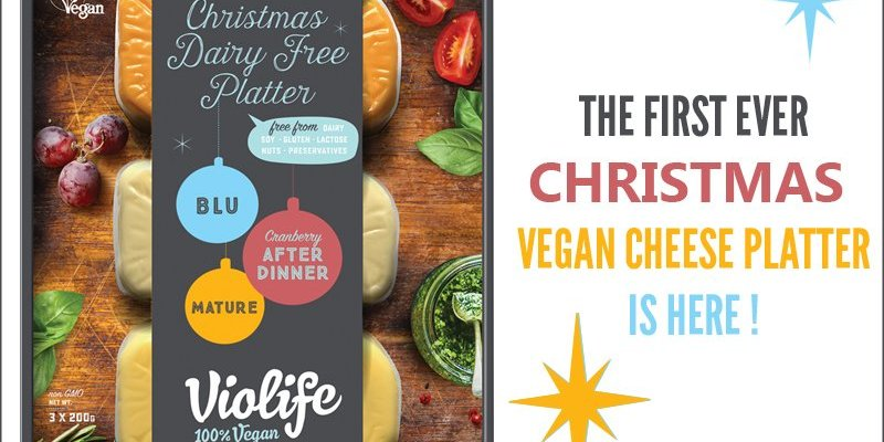Violife Christmas Vegan Cheese Platter