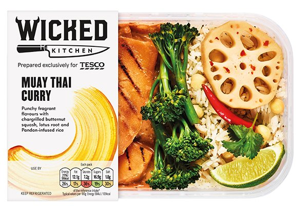 Wicked Kitchen - Muay Thai Curry