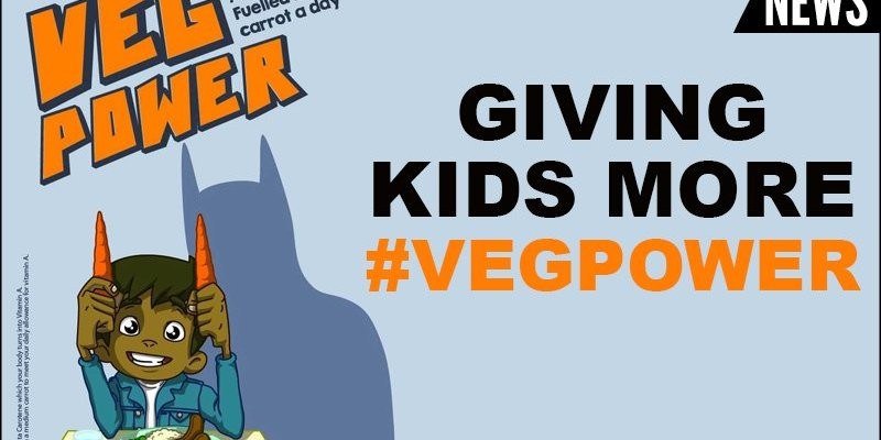 Giving Kids Some Veg Power
