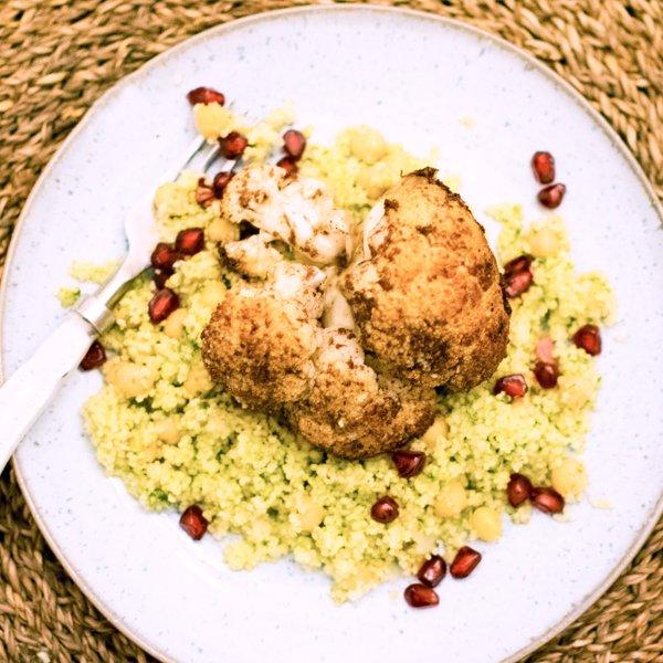 Make Kit Cauliflower Plate