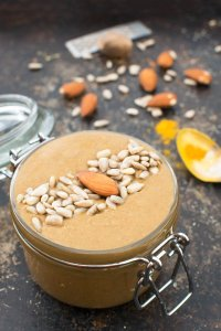 Maple Spice Almond & Sunflower Seed Butter [vegan] by The Flexitarian
