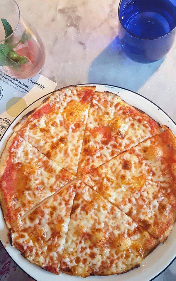 Pizza Express Vegetarian Child Margarita