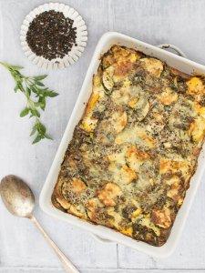 Quinoa & Courgette Gratin [vegetarian] by The Flexitarian