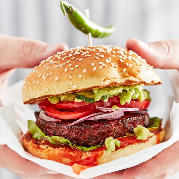 Iceland Launches UK's Largest Frozen Vegan Range - No Bull Jalapeno Burgers