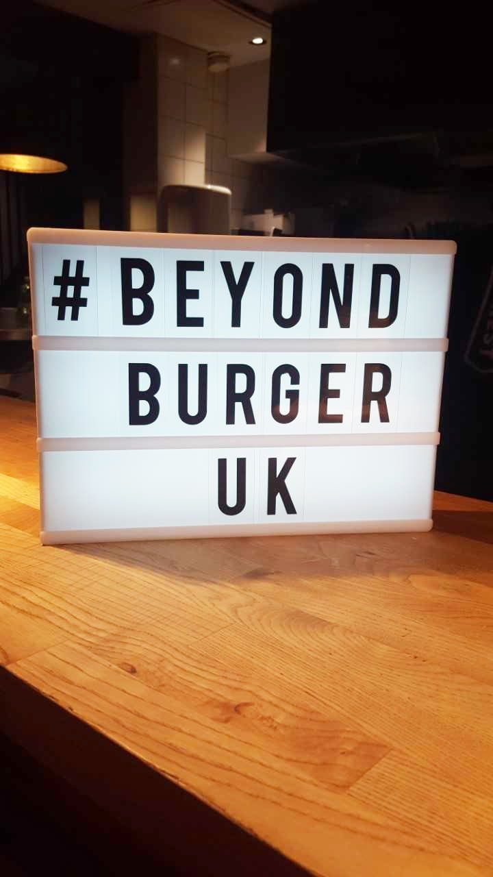 Beyond Burger UK - The Flexitarian