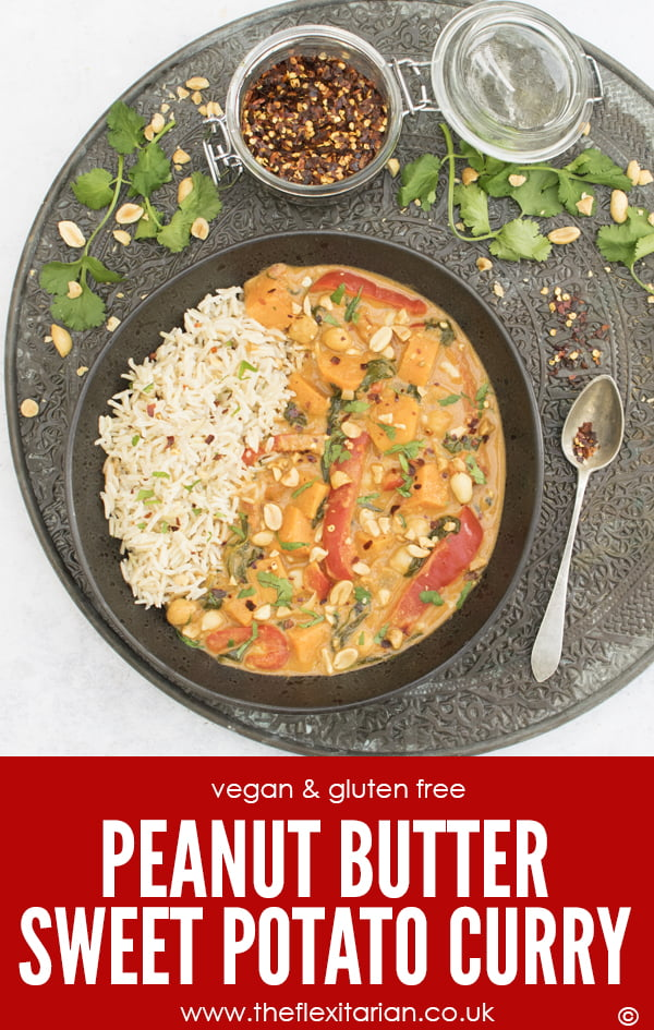 Peanut Butter Sweet Potato Curry [vegan] by The Flexitarian - Annabelle Randles ©
