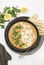 Red Lentil Soup with Lemon & Sumac by The Flexitarian