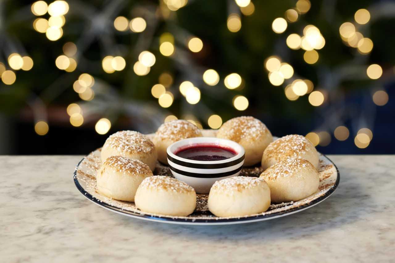 Pizza Express Vegan Christmas Menu - Doughballs