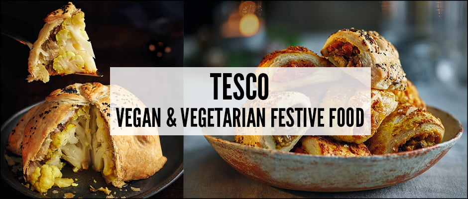 Tesco Vegan and Vegetarian Festive Food