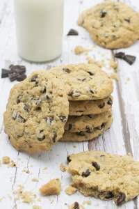 Vegan Chocolate Chip Cookies | The Flexitarian