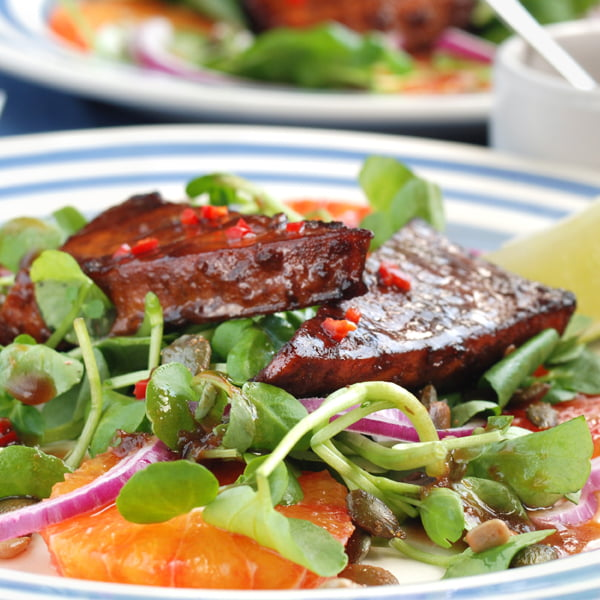 Teriyaki Tofu Salad Viva