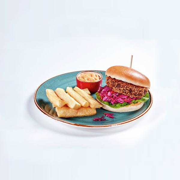 New Chiquito Vegan Menu Burger