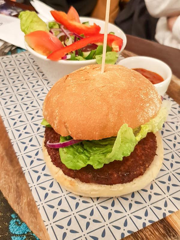 Oumph Burger - Bella Italia New Vegan Menu