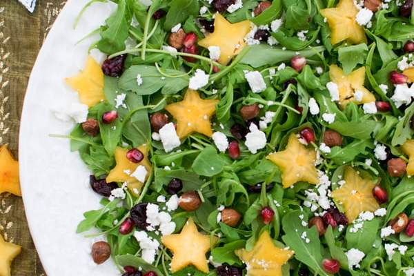Festive Salad 2019 [vegetarian] by The Flexitarian © Annabelle Randles