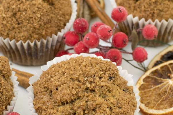 Christmas Muffins [vegan] by The Flexitarian