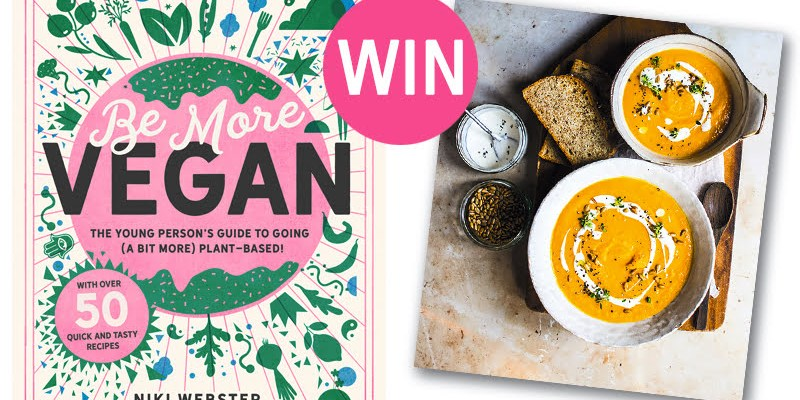 Be More Vegan by Niki Webster | Review + Competition