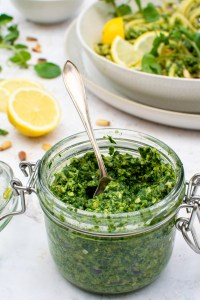 Watercress Pesto [vegan]   The Flexitarian