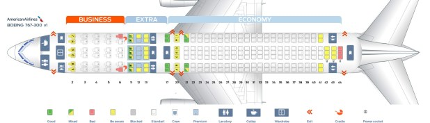 First Cabin Version Of The Boeing 767 300