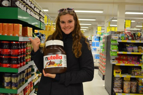 Nutella! German border shops are the best!