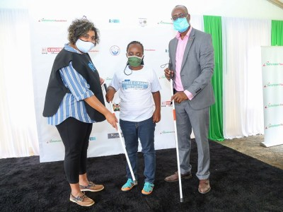 Safaricom and AYUDH Kenya Partner to Distribute White Canes to 20,000 Blind and Visually Impaired Persons