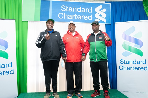 Standard Chartered Bank has partnered with KipKeino Foundation
