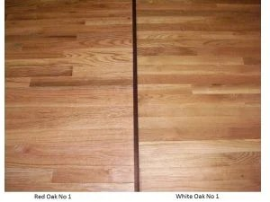 Red oak vs white oak hardwood floors westchester county