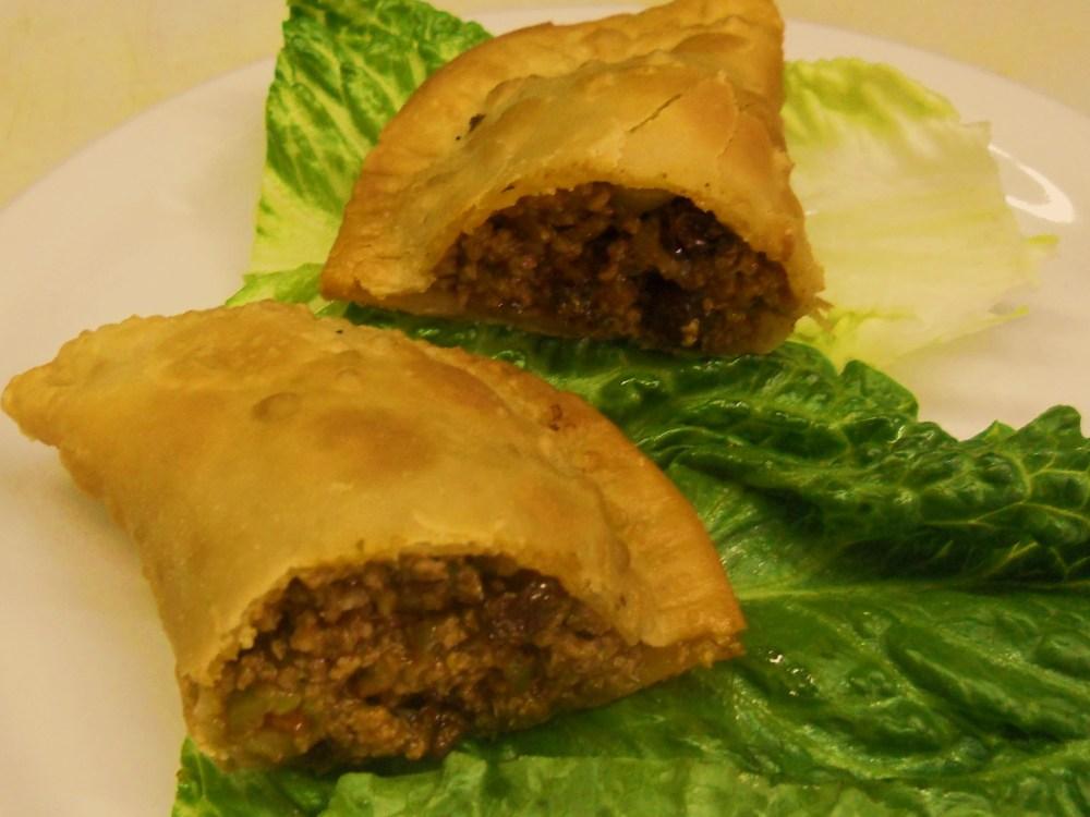 Puerto Rican Pastelillos de Carne (Empanadas) (1/4)