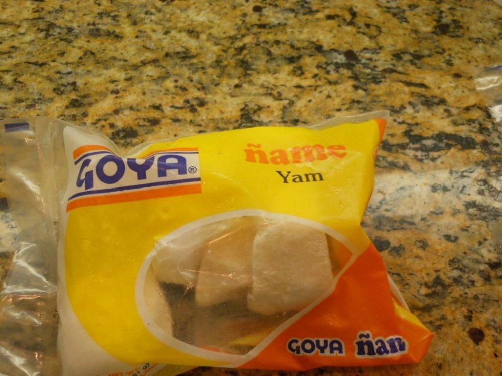 Viandas con Bacalao - Salt Cod With Tropical Root Vegetables (4/6)