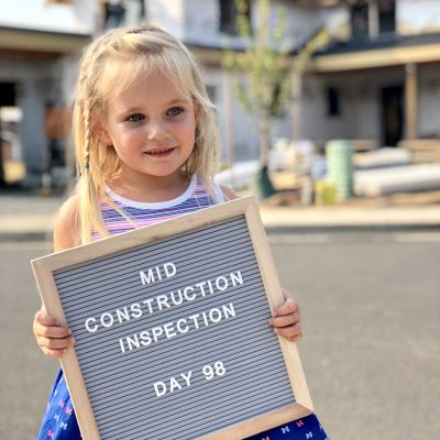 It's a good idea to have a mid-construction inspection