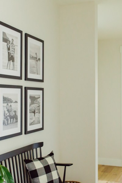 home decor gallery wall