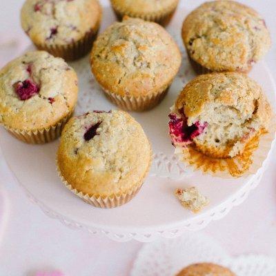 Gluten Free Raspberry Muffins