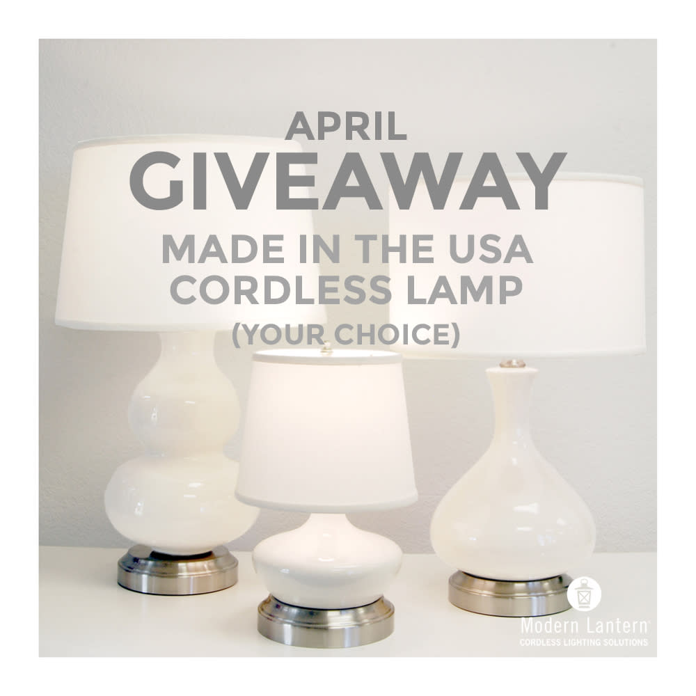 lamp giveaway