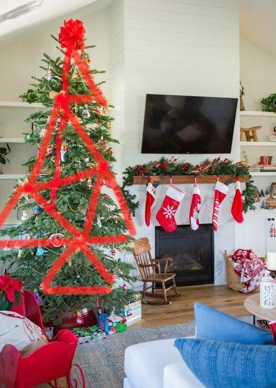 triangle shape decorating