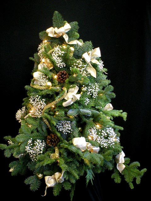 Live Christmas Trees Decorated Delivered