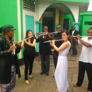 Bringing Classical Music to the Congo.  By Kaori Fujii