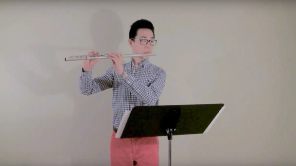 Daniel Wang, 3rd Prize Winner, The Flute View Competition