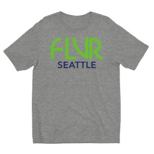 FLVR Seattle 12s – Short sleeve men's t-shirt