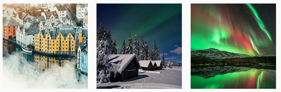 Best Norway Instagram photos feature