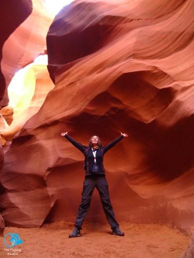 admiring the canyon