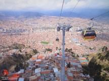 hilly La Paz
