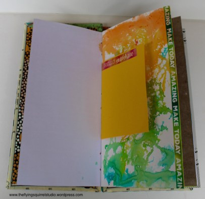 travel journal painted pages 1
