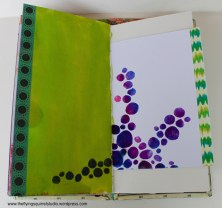 travel journal painted pages 6