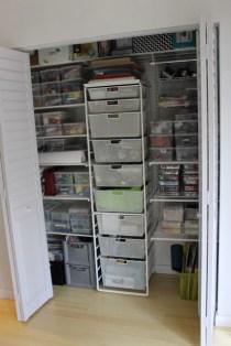 Closet system running at 100% efficiency!