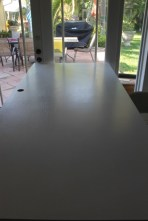 And an extra wide door as a work surface!!