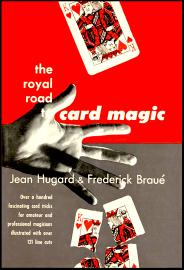 The Royal Road To Card Magic 1951 1st edition Jean Hugard