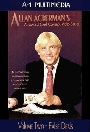 Allan Ackerman Advanced Card Control Vol. 2 False Deals DVD