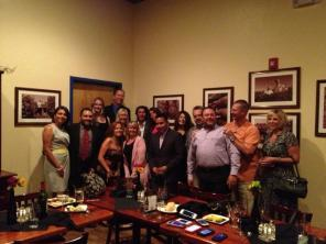 Lou Diamond Phillips with members of the White Sands International Film Festival board. -Courtesy WSIFF Facebook Page