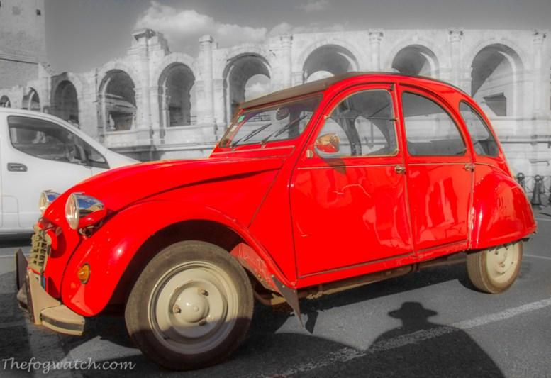 Citroen 2CV at Arles